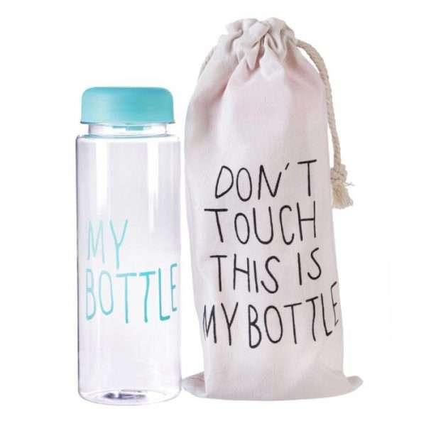 """Бутылка для воды """"My bottle"""" (голубая), 500 мл"""