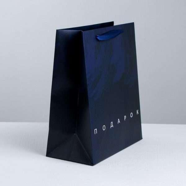 Пакет ламинированный «Подарок», 23×27×11.5 см