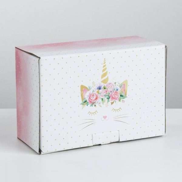 Подарочная коробка «Замурчательный подарок», 22×15х10 см