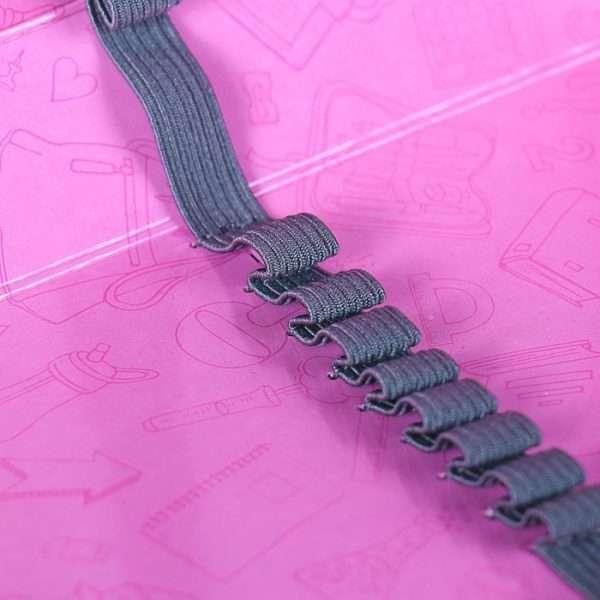 Пенал «Пайетки двухцветные» (розовый)