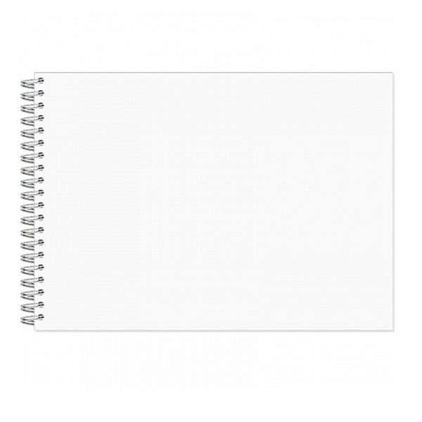 Альбом для рисования акварелью «Маленькая художница», А4, 20л