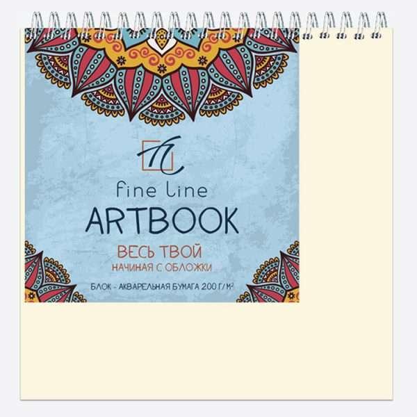 Блокнот для зарисовок «ARTBOOK Quadro BIG AQUARELLE», 20л