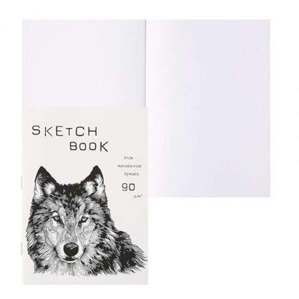 """Блокнот для зарисовок """"SKETCHBOOK SILK"""", А5, 40л"""
