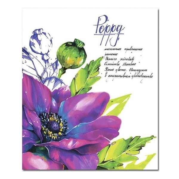 Тетрадь «Ботаника», А5, 48л