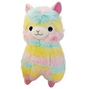 """Игрушка мягкая """"Rainbow llama"""", 20 см"""