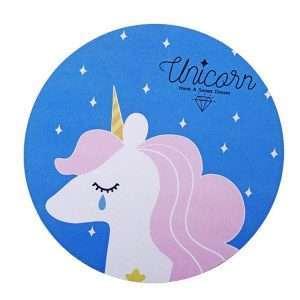 "Коврик для мыши ""Unicorn"" (сиреневый)"