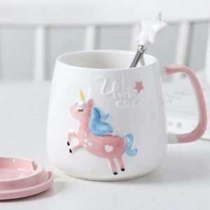 "Кружка ""Unicorn"" (мятная), 450 мл"