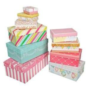 Подарочная коробка «Торт» (32.5 х 20 х 12.5 см)