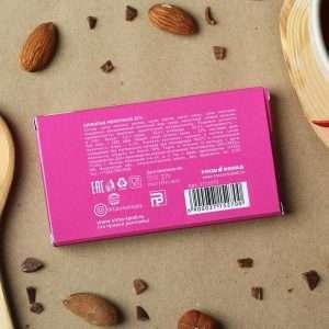 """Шоколад молочный в коробке """"От розовых соплей"""""""