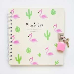 "Записная книжка ""Фламинго"", А6+, 45л (розовая)"