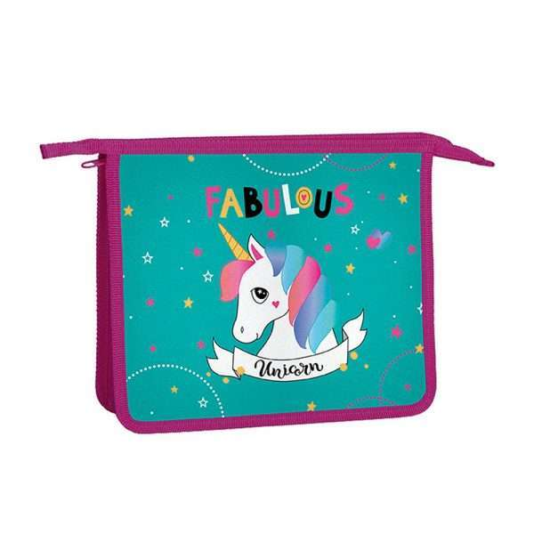 "Папка для тетрадей ""Fabulous Unicorn"", А5"